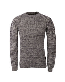 G-Star Mens Blue Suzaki Knitted Jumper