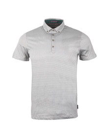 Ted Baker Mens Blue S/S Allover Printed Polo Shirt