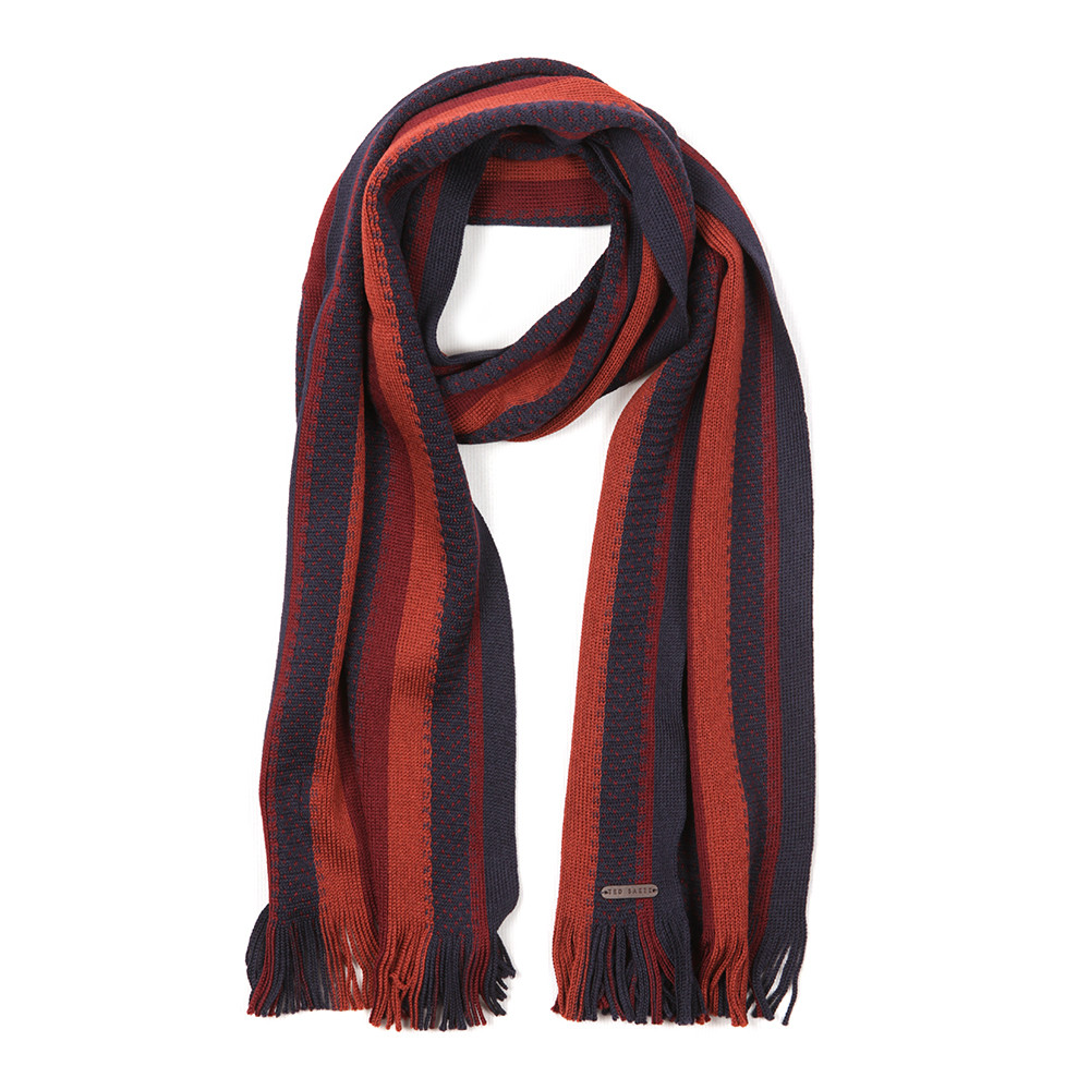 Textured Striped Scarf main image