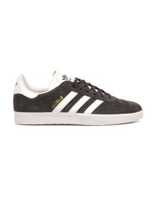 Adidas Originals Mens Grey Gazelle Trainer
