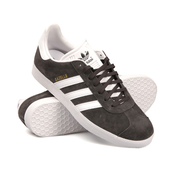 adidas Originals Mens Grey Gazelle Trainer main image