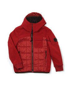 CP Company Undersixteen Boys Red Contrast Padded Jacket