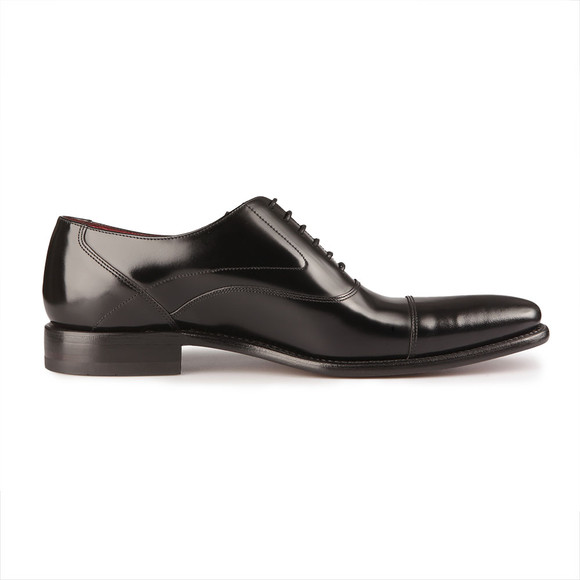 Loake Mens Black Sharp Polished Toe Cap Shoe main image