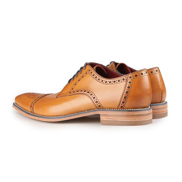 Loake Mens Brown Foley Semi-Brogue Shoe main image