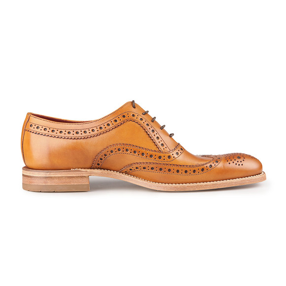Loake Mens Brown Fearnley Calf Brogue Shoe