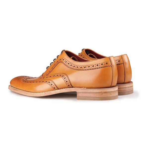 Loake Mens Brown Fearnley Calf Brogue Shoe main image