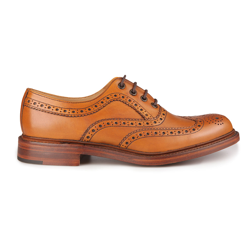 Ashby Calf Brogue Shoe main image