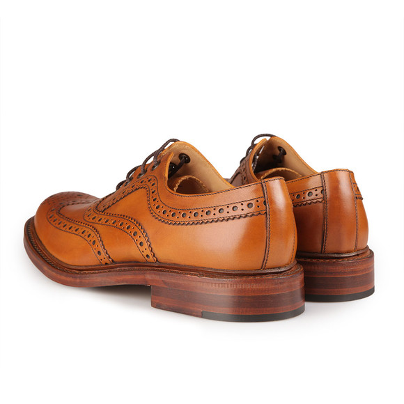 Loake Mens Brown Ashby Calf Brogue Shoe main image