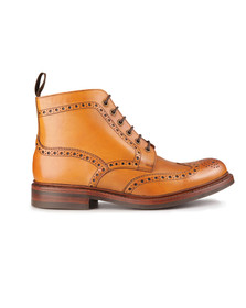 Loake Mens Brown Bedale Calf Brogue Boot