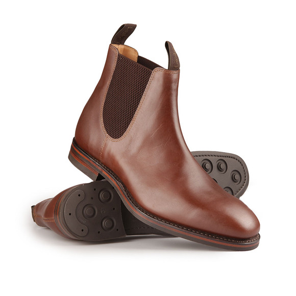 Loake Mens Brown Chatsworth Chelsea Boot main image