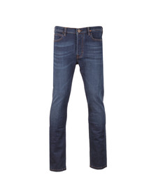Vivienne Westwood Anglomania Mens Blue Classic Tapered Jean
