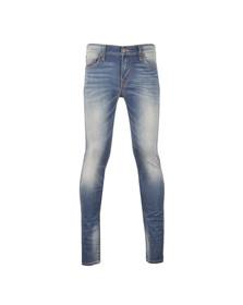 True Religion Mens Blue Tony No Flap Skinny Jean