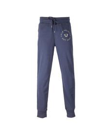 True Religion Mens Blue Contrast Sweatpants