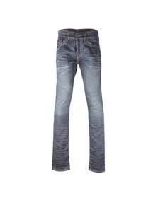 True Religion Mens Blue Rocco Super T Jean
