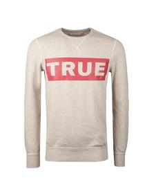 True Religion Mens Grey Long Sleeve Sweatshirt