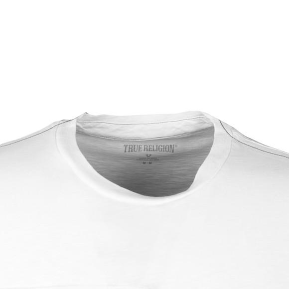 True Religion Mens White Cut Up Buddha T Shirt main image