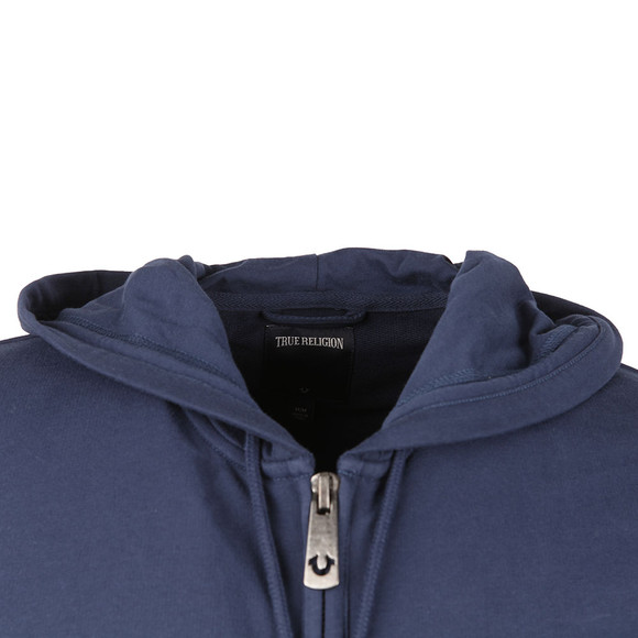 True Religion Mens Blue Crafted With Pride Hoody main image