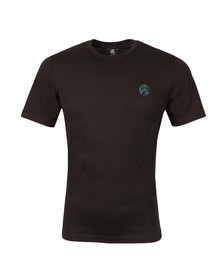 Paul Smith Mens Black Regular Small Logo T Shirt