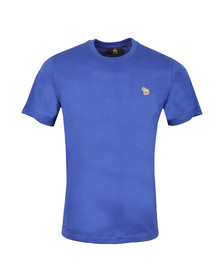 Paul Smith Mens Blue Zebra Badge Crew T-Shirt