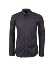 Hugo Mens Blue Elisha Zig Zag Shirt