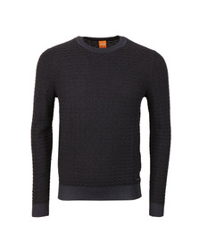 Boss Orange Mens Blue Kuvudo Jumper