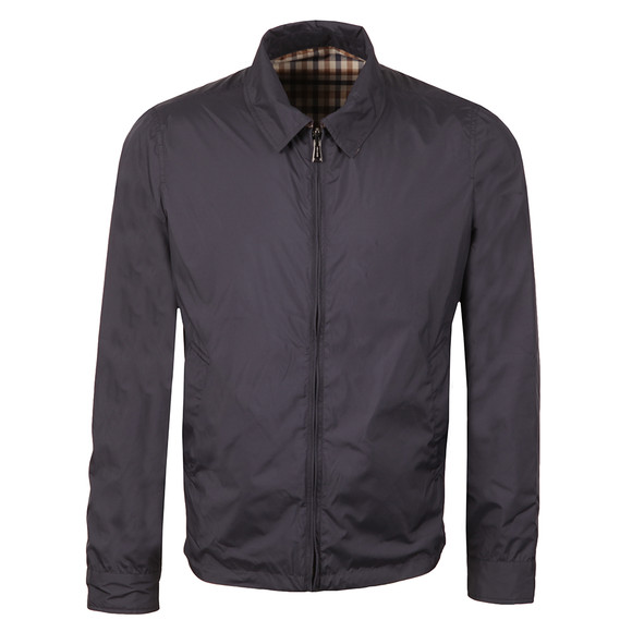 Aquascutum Mens Blue Brackenbury Reversible Blouson main image