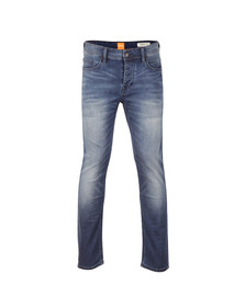 Boss Orange Mens Blue 90 Tapered Jean