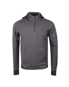 Lacoste Mens Grey SH9612 Hooded Sweat