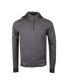 Lacoste Mens Grey SH9612 Hooded Sweat