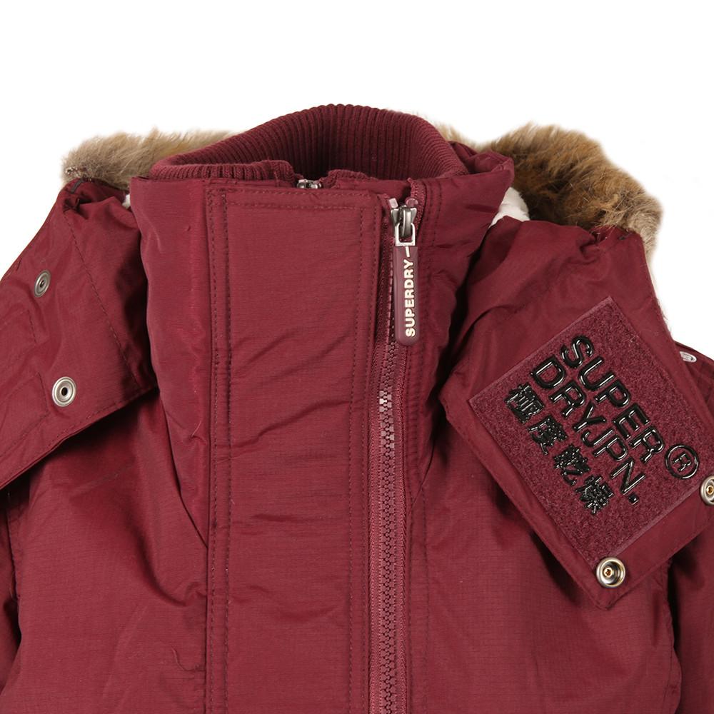 Hooded Fur Sherpa Wind Attacker main image