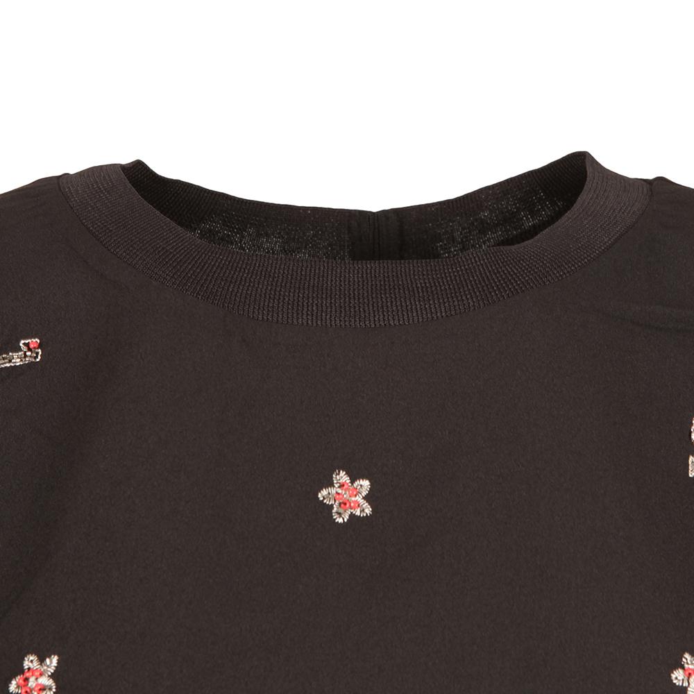 Key Heart Embellished T Shirt main image