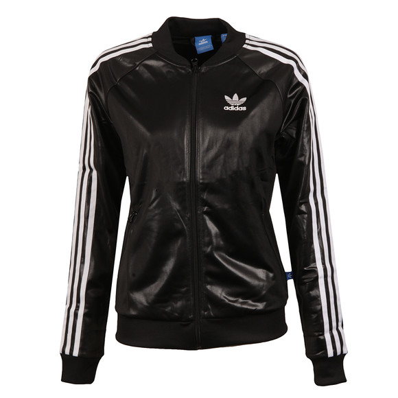 Adidas Originals Womens Black Superstar Track Top main image