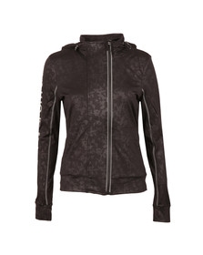 Superdry Womens Black Core Gym Zip Hoody