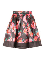 Allegro Poppy Satin Flare Skirt