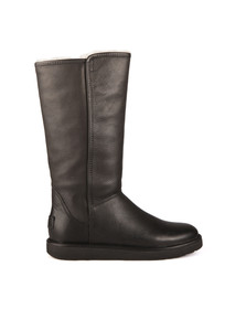 Ugg Womens Black Abree Leather Boot