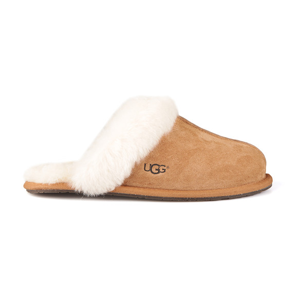 Ugg Womens Brown Scuffette II Slipper