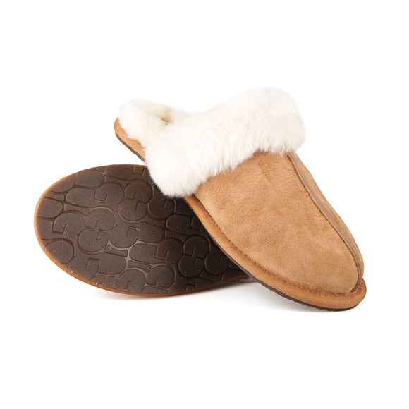 Ugg Womens Brown Scuffette II Slipper main image