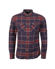 Superdry Mens Blue Refined Lumberjack Shirt