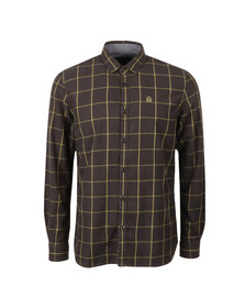 Duck & Cover Mens Black L/S Element Shirt