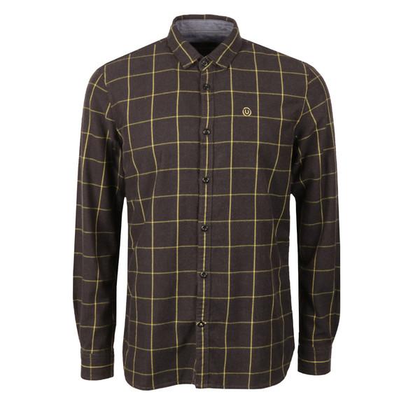 Duck & Cover Mens Black L/S Element Shirt main image