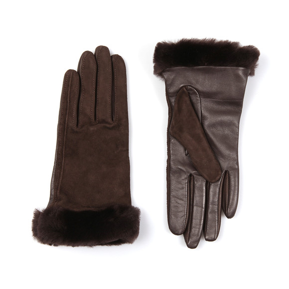 Ugg Womens Brown Classic Suede Smart Glove main image