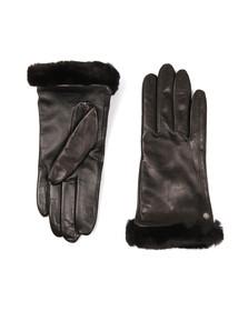 Ugg Womens Black Classic Smart Leather Glove