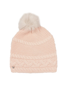 Ugg Womens Freshwater Pearl Cable Oversized Beanie
