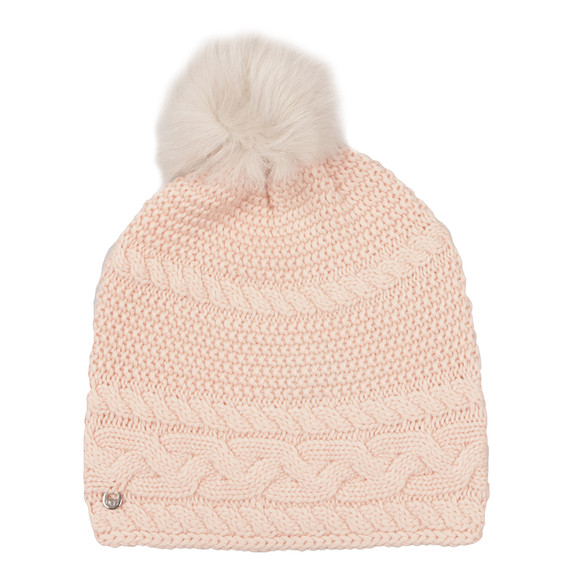 Ugg Womens Pink Cable Oversized Beanie main image