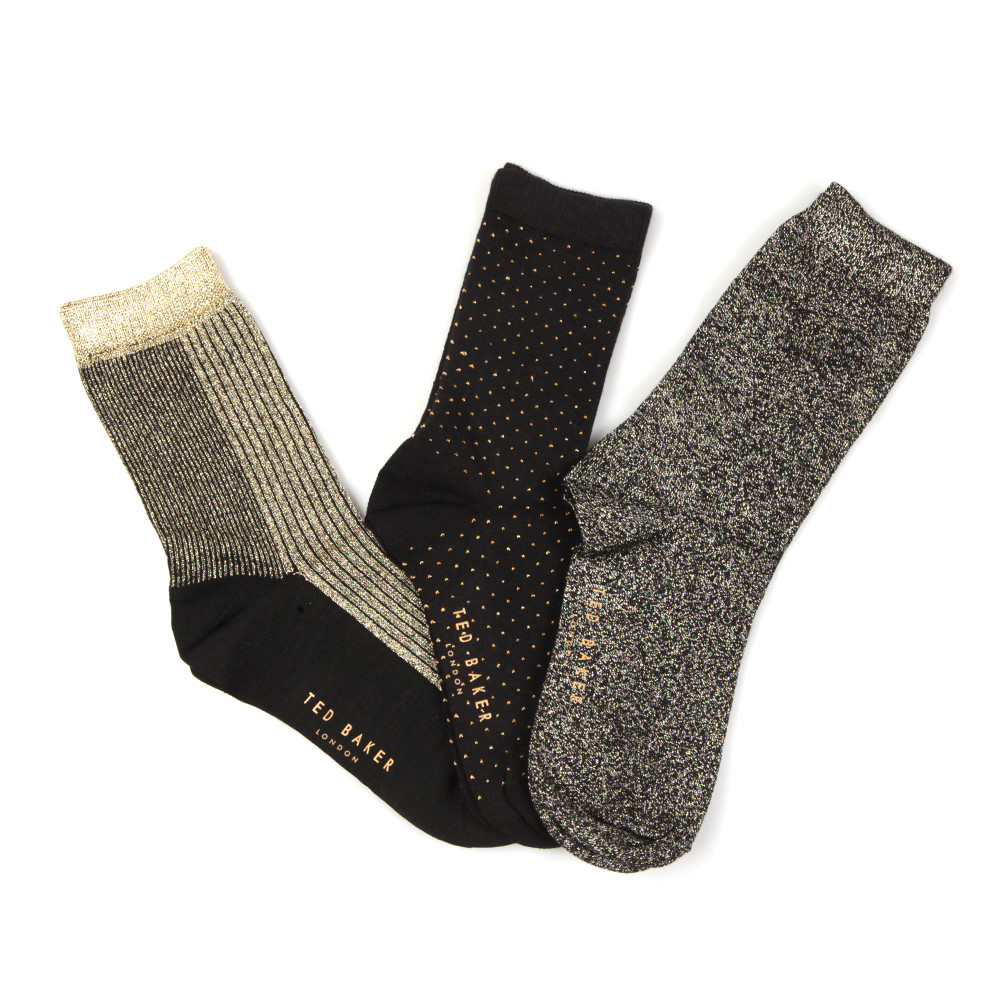 Glintee Metallic Assorted Sock Pack main image