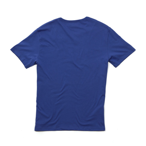 Emporio Armani Mens Blue Large Chest Logo TShirt main image