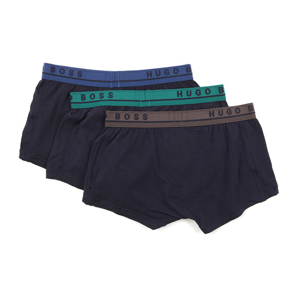 BOSS Bodywear Mens Blue 3 Pack Boxer