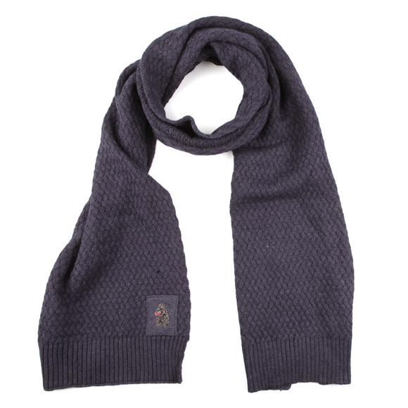 Luke Mens Blue Unbeweavable Hat And Scarf Set main image