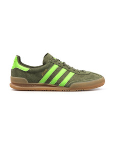 Adidas Originals Mens Green Jeans Trainer S79999