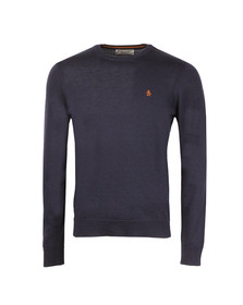 Original Penguin Mens Blue Italian Merino Jumper